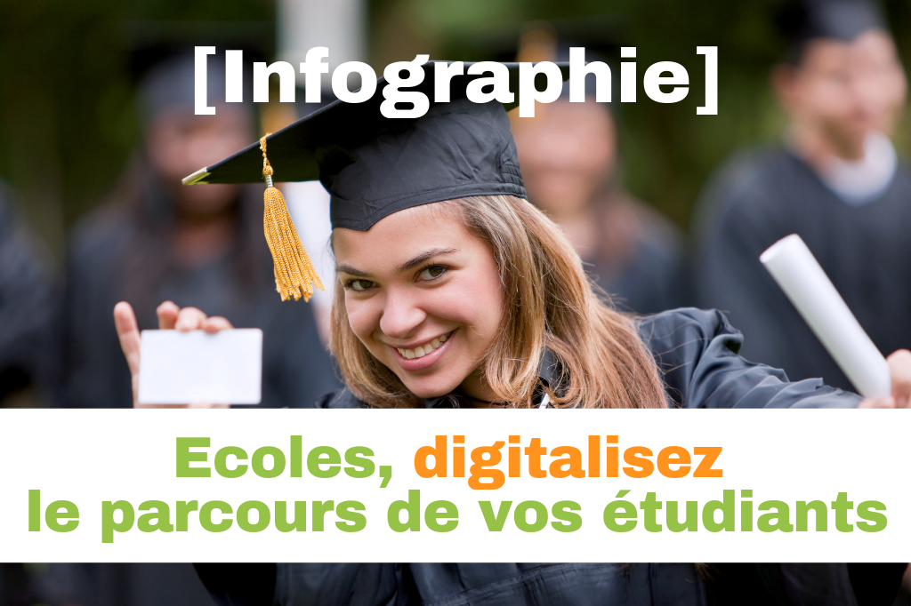[Infographie]  Le parcours inscription de vos étudiants