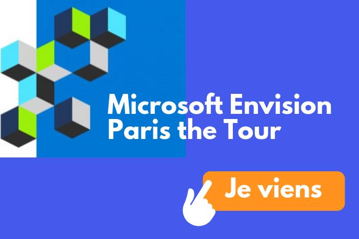 Microsoft Envision Paris the Tour – l'événement numérique